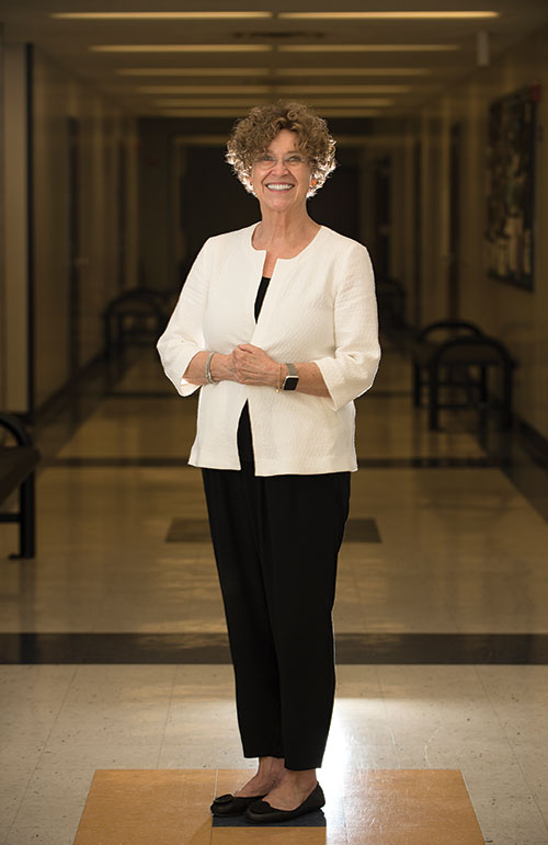 Sharon Hiles, Dean of the College of Letters, Arts & Social Sciences.