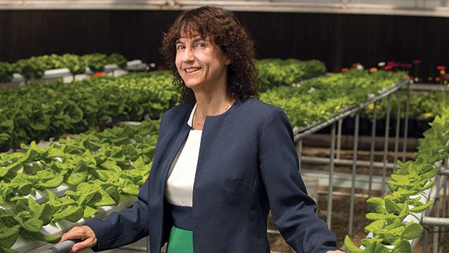 Lisa Kessler, Huntley College of Agriculture.