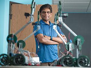 "Professor Mariappan ""Jawa"" Jawaharlal, Mechanical Engineering professor."