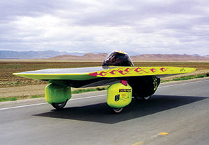 Intrepid Too Solar Car.