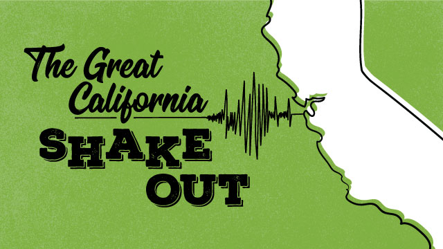 The campus will participate in the annual earthquake drill on Thursday, Oct. 19, at 10:19 a.m.