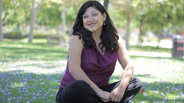 Reyna Grande, author of The Distance Between Us.