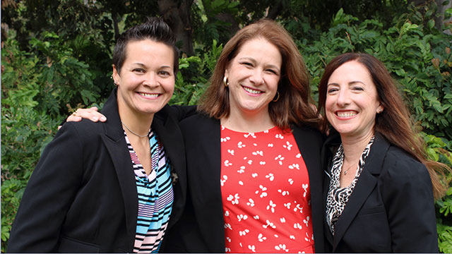 Professors Beth Foster, Heather Wizikowski and Joanne Van Boxtel will spearhead the effort to increase the number of special education teachers and prepare fully credential adapted physical educators to teach physical education to students with disabilities.