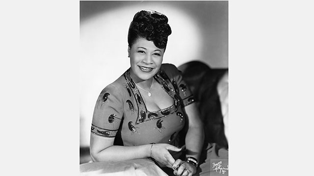 """The First Lady of Song,"" Ella Fitzgerald."