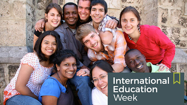 International Education Week returns on Nov. 14.