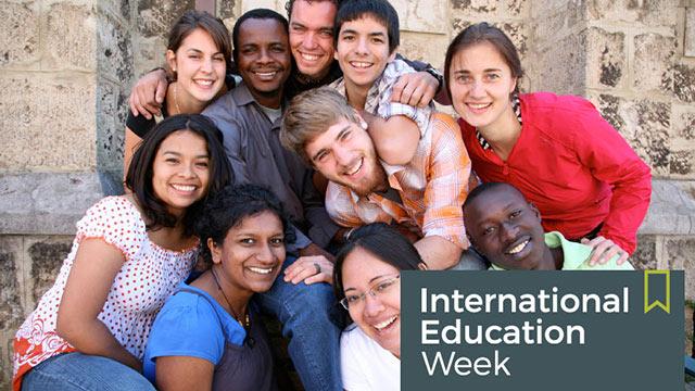 International Education Week returns on Nov. 14.