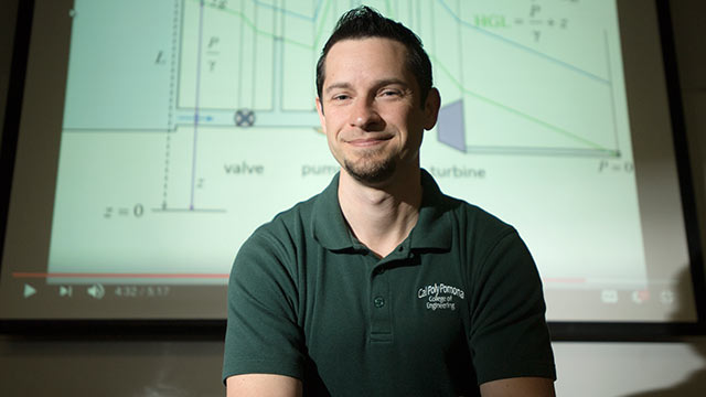 Professor Paul Nissenson led a group of seven Cal Poly Pomona faculty who won the Online Learning Consortium's Digital Innovation Award for their innovative changes to an engineering course.
