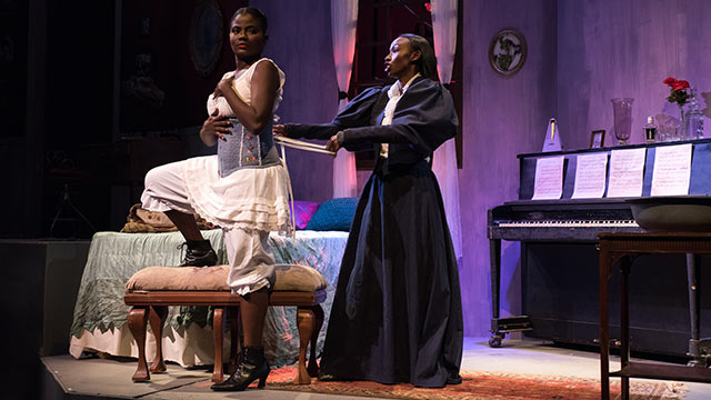 "The Department of Theatre and New Dance presents ""Intimate Apparel."""