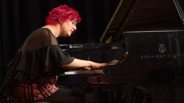 Nadia Shpachenko, professor in the Music Department.