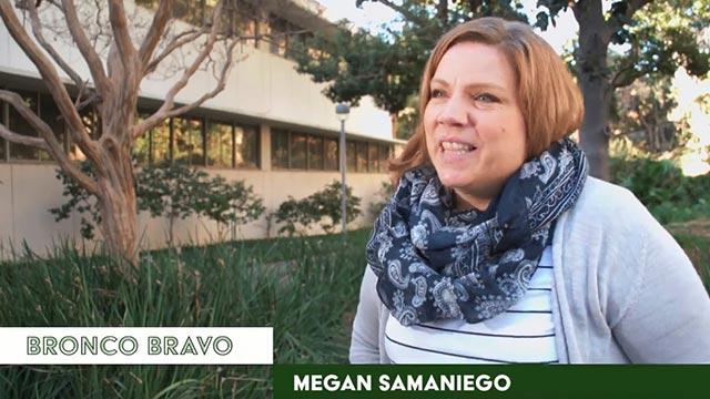 Megan Samaniego.