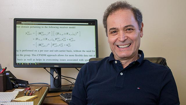 "Electrical engineering professor, Thomas Ketseoglou submitted a paper on his algorithm to ""IEEE Transactions on Communications"", one of the most impactful journals in telecommunications, and was accepted for publication."