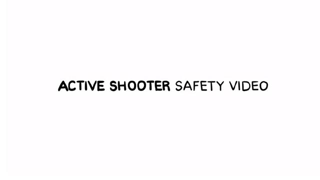The California State University active shooter video.