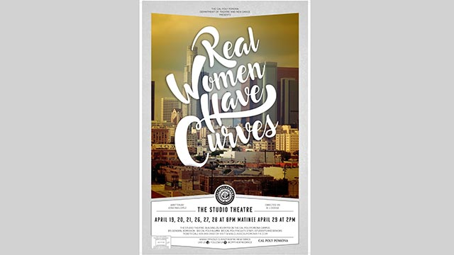"""The Department of Theatre and New Dance opens its final studio show of the 2017-18 with """"Real Women Have Curves."""""""