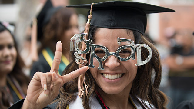 The 2018 Commencement Ceremonies will take place June 8 - 10.
