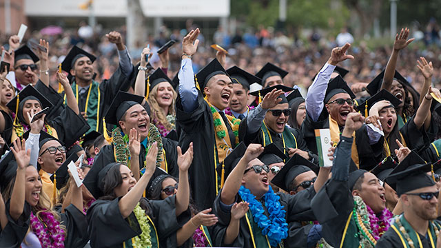 Cal Poly Pomona's 62nd Commencement takes place June 8 to 10.