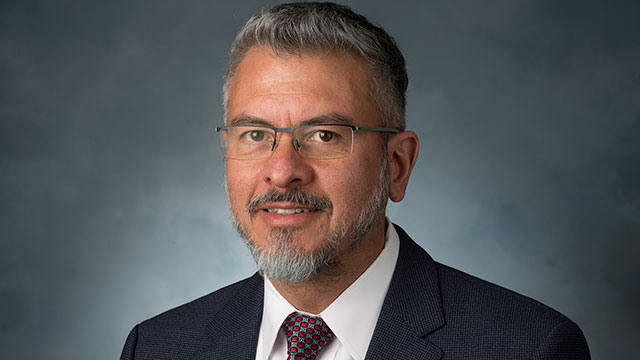 Martin F. Sancho-Madriz has been named associate vice president for Faculty Affairs.