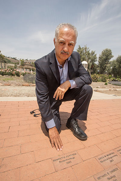 Betbadal's husband Arlen Verdehyou hopes the brick and other memorials to the victims of the attack will help ensure that they are never forgotten.