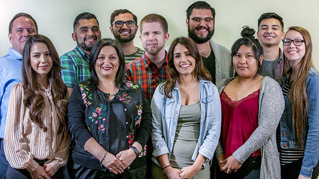 The Cal Poly Pomona members of the American Marketing Association.