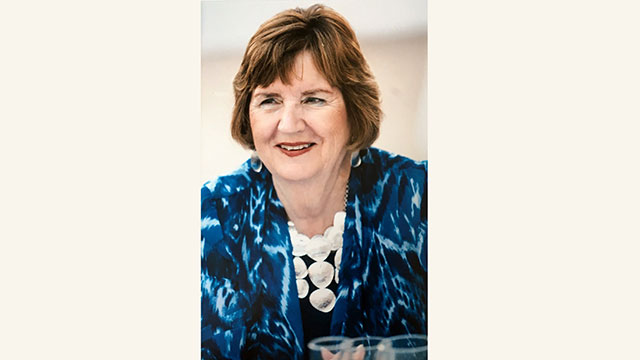 Nancy Sharon Kropf, is the former associate vice president for human resource services.