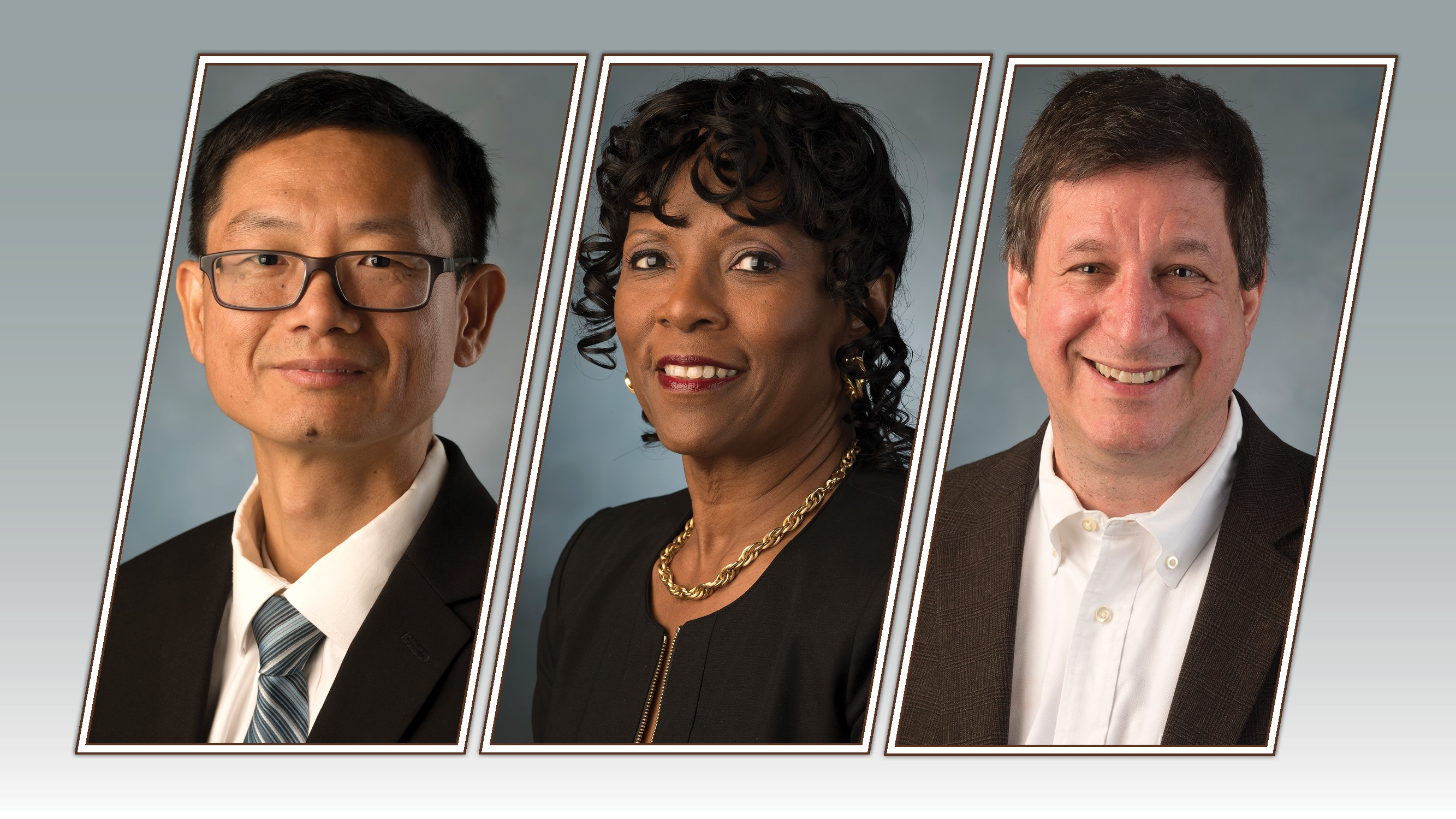 The winners of the 2018 Provost's Awards for Excellence are Mingheng Li, Felicia Friendly Thomas and Alexander Rudolph.