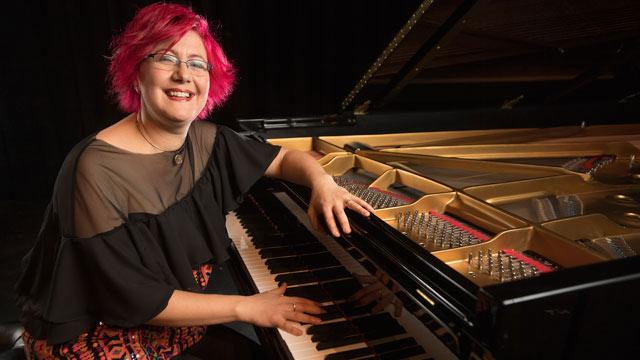 Music Professor Nadia Shpachenko has been awarded recording grants for her upcoming 2019 album.