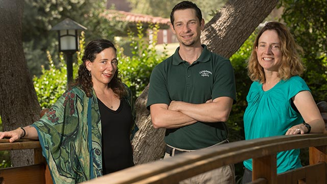 Faye Wachs, Paul Nissenson and Juliana Fuqua received a Faculty Innovation and Leadership Award from the CSU.
