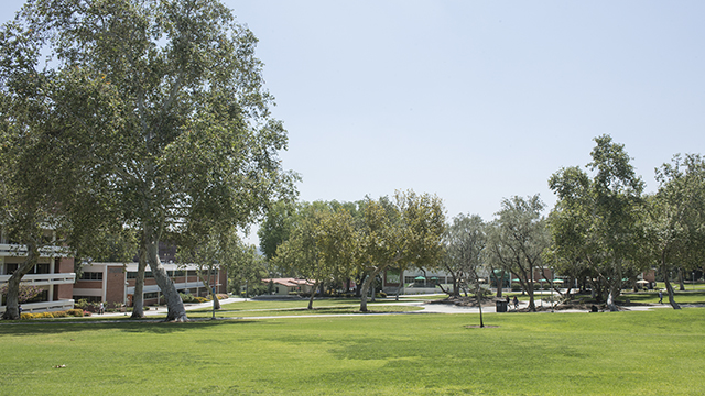 The quad at Cal Poly Pomona.