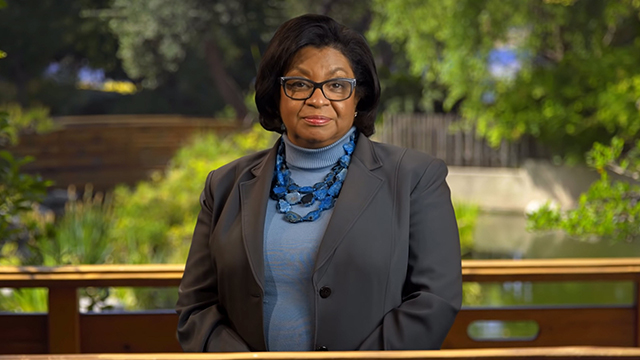 President Soraya M. Coley addresses the campus in a new video.