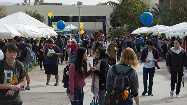 The campus community can attend several events celebrating International Week.