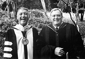 La Bounty had a friendship with famed actor Raymond Burr, who played Perry Mason on the show of the same name and donated his art and orchid collections the university.