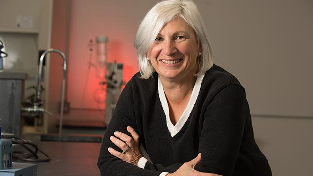 Professor Lisa Alex will receive this year's George P. Hart Award for Outstanding Faculty Leadership.