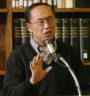 Professor Haiming Liu will share the lecture stage with Wang to give a talk on Panda Express and the history of Chinese food in the United States.