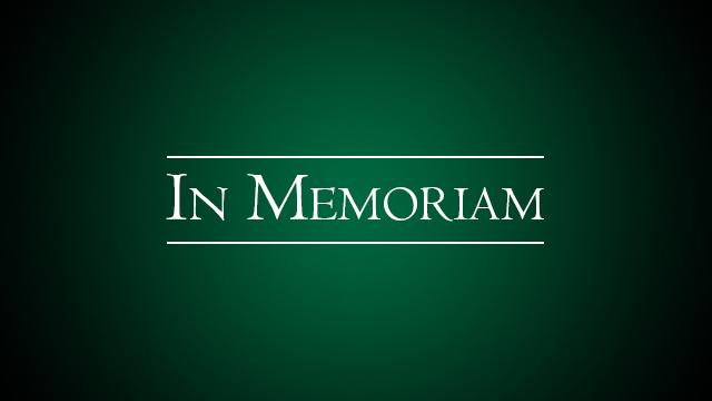 Text of In Memoriam