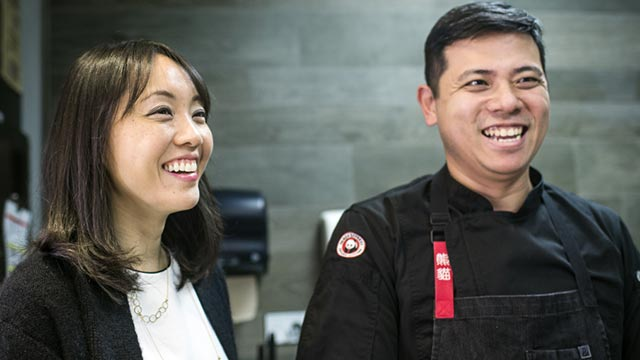 Jimmy Wang serves as the director of culinary innovation at Chinese fast food giant Panda Express.