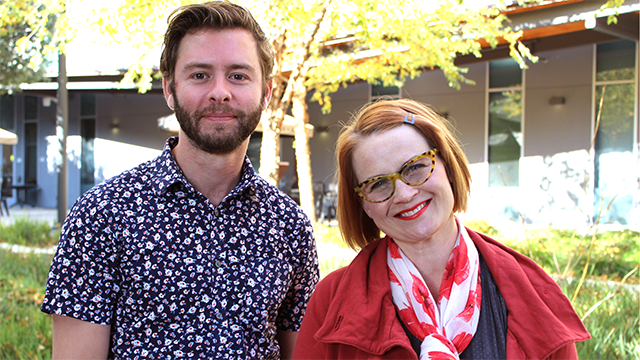 Assistant professors Jeff Roy, Eden Haywood-Bird and Maya Stovall (not pictured) have joined the faculty of the College of Education and Integrative Studies.