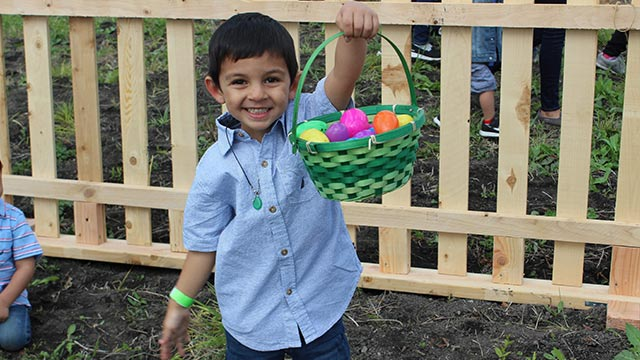 The Spring on the Farm Egg Hunt event will be held on Saturday, April 13.