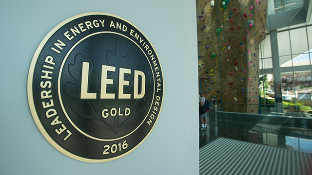 The BRIC earned LEED Gold certification for the high level of environmental sustainability used in its construction.
