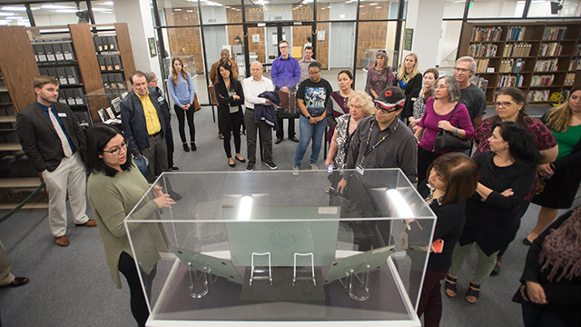 """A group tour for the project """"As California Goes, So Goes the Nation."""""""