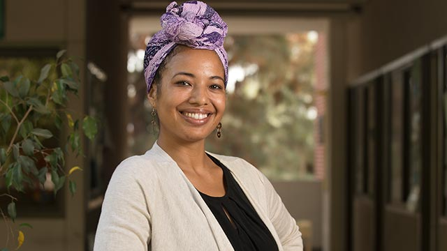 Assistant Professor Analena Hope Hassberg researches and writes about food equity nd social justice issues.