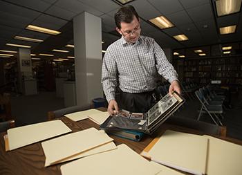 Rob Strauss, project archivist.