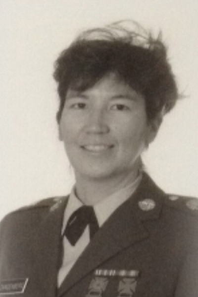 Elizabeth Zangenberg served in the National Guard for 10 years. She provided a $2,000 matching gift to the Veteran's Resource Center in April for Giving Day, which was fully met.