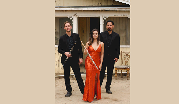 ACE Trio, winners of the 2018 Beverly Hills National Audition Chamber Ensemble Competition.