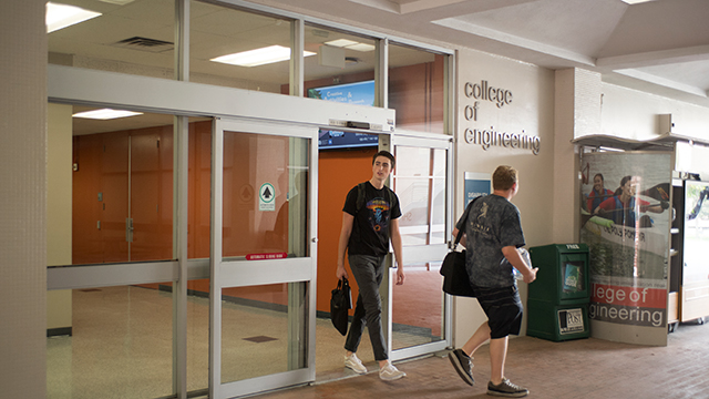 The modernization project for three elevators in the College of Engineering is expected to start in late June.