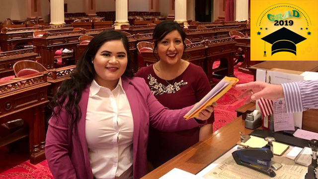 Ibarra interned for state Sen. Melissa Hurtado and was recently hired to serve as a legislative assistant in the lawmaker's office.