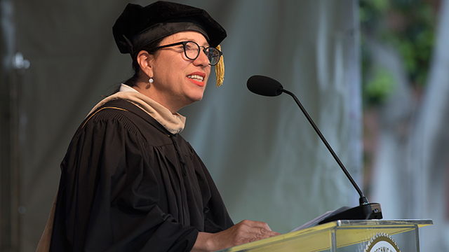 California Lt. Gov. Shares the Impact of Education in Commencement Speech