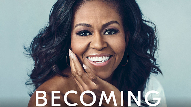 The Common Read for the 219-20 academic year is Michelle Obama's memoir, Becoming.