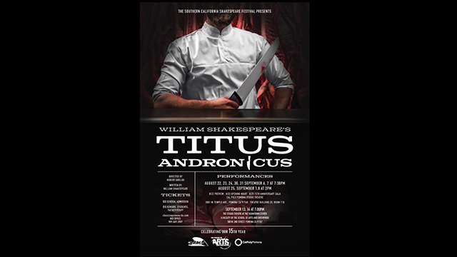 William Shakespeare's Titus Andronicus.