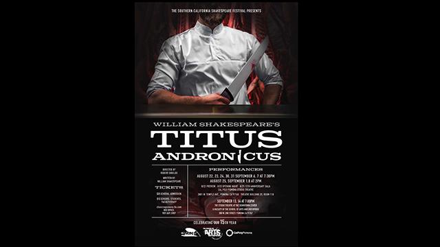 William Shakespeare's Titus Andronicus.