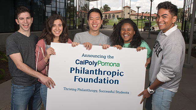 The new Cal Poly Pomona philanthropic foundation has launched.