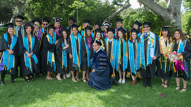 Members of the 2019 graduating class of the Science Educational Enhancement Services (SEES) program, which supports students in the College of Science.